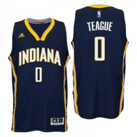 Indiana Pacers #0 Jeff Teague New Swingman Road Navy Jersey