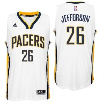 Indiana Pacers #26 Al Jefferson Home White New Swingman Jersey