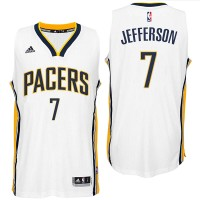 Indiana Pacers #7 Al Jefferson 2016 Home White New Swingman Jersey