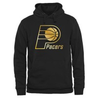 Indiana Pacers Gold Collection Pullover Hoodie Black