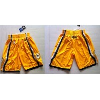 Indiana Pacers Yellow NBA Shorts