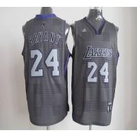 Lakers #24 Kobe Bryant Black Rhythm Fashion Stitched NBA Jersey