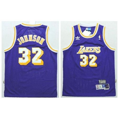 af4ba7f6c156 ... promo code for lakers 32 magic johnson purple throwback stitched youth nba  jersey 0eb69 a80fd ...