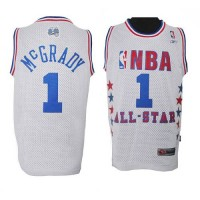 Magic #1 Tracy Mcgrady White 2003 All Star Stitched NBA Jersey