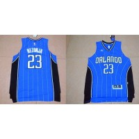 Magic #23 Mario Hezonja Blue Stitched NBA Jersey