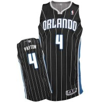 Magic #4 Elfrid Payton Black Revolution 30 Stitched NBA Jersey