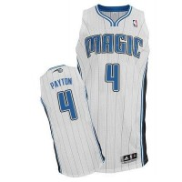 Magic #4 Elfrid Payton White Revolution 30 Stitched NBA Jersey