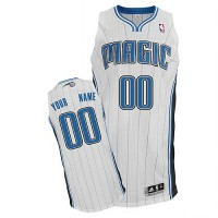 Magic Personalized Authentic White NBA Jersey (S-3XL)