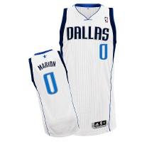 Mavericks #0 Shawn Marion Revolution 30 Whtie Stitched NBA Jersey