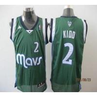 Mavericks #2 Jason Kidd Green Revolution 30 Stitched NBA Jersey