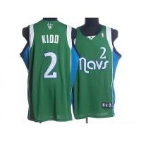 Mavericks #2 Jason Kidd Stitched NBA Green Jersey