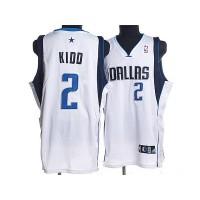 Mavericks #2 Jason Kidd Stitched NBA White Jersey