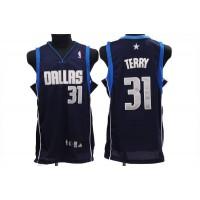 Mavericks #31 Jason Terry Stitched NBA Blue Jersey