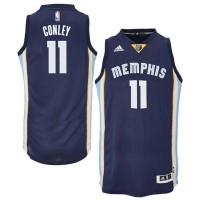 Memphis Grizzlies #11 Mike Conley 2014-15 New Swingman Road Blue Jersey