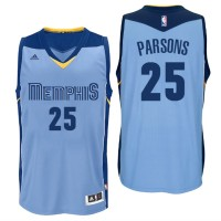 Memphis Grizzlies #25 Chandler Parsons Alternate Blue New Swingman Jersey