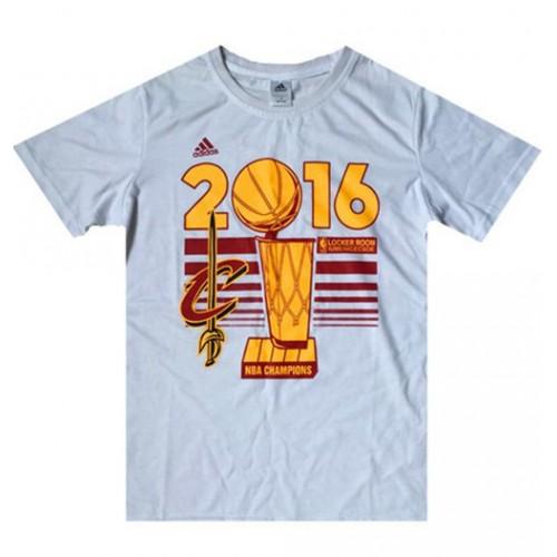 Men s Cleveland Cavaliers Adidas White 2016 NBA Finals Champions Locker  Room T-Shirt de69d01e9