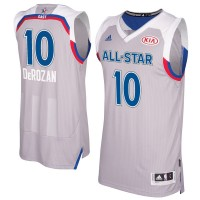 2017 All-Star Eastern Conference Toronto Raptors #10 DeMar DeRozan Gray Stitched NBA Jersey