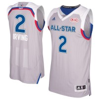 2017 All-Star Eastern Conference Cleveland Cavaliers #2 Kyrie Irving Gray Stitched NBA Jersey
