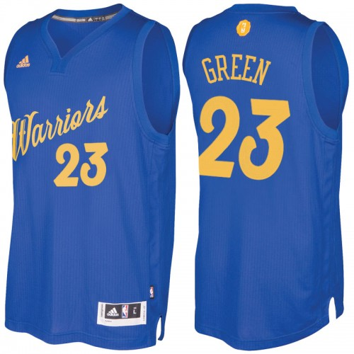 Men s Golden State Warriors  23 Draymond Green Royal 2016-2017 Christmas  Day NBA Swingman Jersey 11b044295