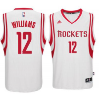 Men's Houston Rockets #12 Lou Williams adidas White Swingman climacool Jersey