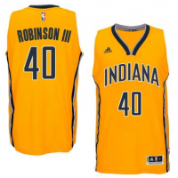 Men's Indiana Pacers #40 Glenn Robinson III adidas Gold Player Swingman Alternate Jersey