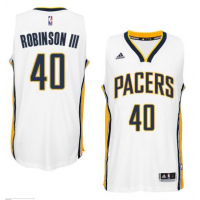 Men's Indiana Pacers #40 Glenn Robinson III adidas White Player Swingman Home Jersey