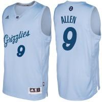 Men's Memphis Grizzlies #9 Tony Allen Light Blue 2016-2017 Christmas Day NBA Swingman Jersey