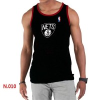 Men's NBA Brooklyn Nets Big & Tall Primary Logo Tank Top Black
