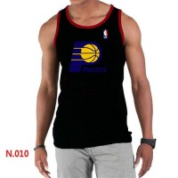 Men's NBA Indiana Pacers Big & Tall Primary Logo Tank Top Black