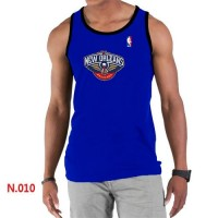 Men's NBA New Orleans Pelicans Big & Tall Primary Logo Tank Top Blue