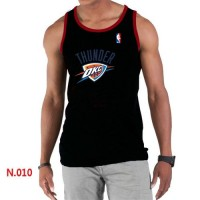 Men's NBA Oklahoma City Thunder Big & Tall Primary Logo Tank Top Black
