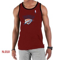 Men's NBA Oklahoma City Thunder Big & Tall Primary Logo Tank Top Red