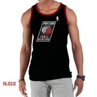 Men's NBA Portland Trail Blazers Big & Tall Primary Logo Tank Top Black