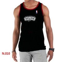 Men's NBA San Antonio Spurs Big & Tall Primary Logo Tank Top Black