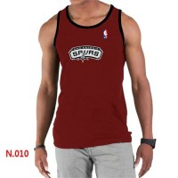 Men's NBA San Antonio Spurs Big & Tall Primary Logo Tank Top Red