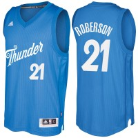 Men's Oklahoma City Thunder #21 Andre Roberson Blue 2016-2017 Christmas Day NBA Swingman Jersey
