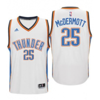 Men's Oklahoma City Thunder #22 Doug McDermott adidas White Player Swingman Jersey