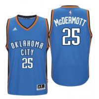 Men's Oklahoma City Thunder #25 Doug McDermott adidas Light Blue Player Swingman Jersey