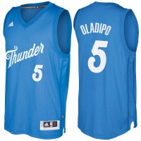 Men's Oklahoma City Thunder #5 Victor Oladipo Blue 2016-2017 Christmas Day NBA Swingman Jersey