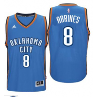 Men's Oklahoma City Thunder #8 Alex Abrines adidas Light Blue Player Swingman Jersey