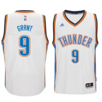 Men's Oklahoma City Thunder #9 Jerami Grant adidas White New Swingman Home Jersey