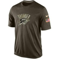Men's Oklahoma City Thunder Salute To Service Nike Dri-FIT T-Shirt