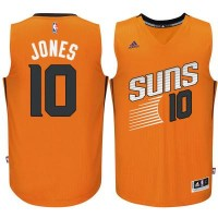 Men's Phoenix Suns #10 Derrick Jones adidas Orange Swingman Alternate Jersey