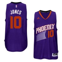 Men's Phoenix Suns #10 Derrick Jones adidas Purple Swingman Road Jersey
