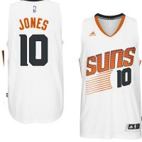 Men's Phoenix Suns #10 Derrick Jones adidas White Swingman Home Jersey