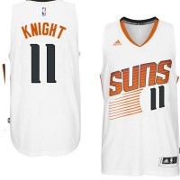 Men's Phoenix Suns #11 Brandon Knight adidas White Swingman Home Jersey
