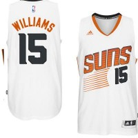 Men's Phoenix Suns #15 Alan Williams adidas White Swingman Home Jersey