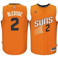 Men's Phoenix Suns #2 Eric Bledsoe adidas Orange Swingman climacool Jersey