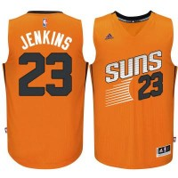 Men's Phoenix Suns #23 John Jenkins adidas Orange Swingman Alternate Jersey