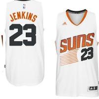 Men's Phoenix Suns #23 John Jenkins adidas White Swingman Home Jersey